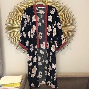 A.OK CoEvolution Black Kimono